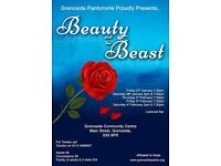 """Beauty and the Beast"" Pantomime at Grenoside Community Centre, Main Street, Grenoside, S35 8PN."