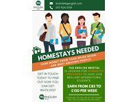 Homestays needed - Earn money from hosting lovely international students!