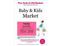 The Jack & Jill Market Saturday 26th May Lagoon Leisure Centre 10:30am