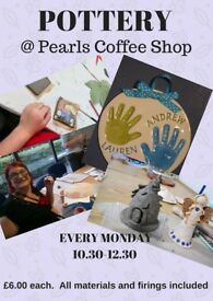 POTTERY AT PEARLS ....SWANSEA