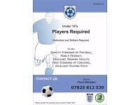 U16 Players Required - Killamarsh Dynamo's