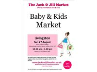 Jack and Jill Market Livingston for sale  West Lothian