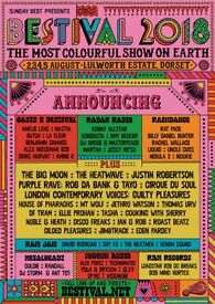 X2 BESTIVAL TICKETS with 2 VIP Desperados Clubhouse Passes