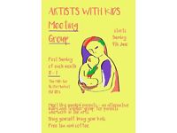Artists with kids meeting group