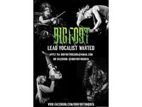 Lead Vocalist Singer Wanted for Signed Touring Hard Rock Band