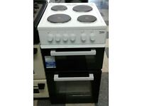 f208 white beko 50cm solid ring electric cooker new with manufacturer warranty can be delivered