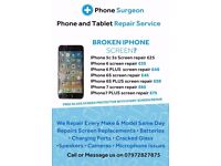 Mobile Phone & Tablet Repairs IPhone Samsung Nokia HTC LG IPad Huawei OnePlus BlackBerry Google