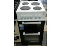 a208 white beko 50cm solid ring electric cooker new with manufacturers warranty can be delivered