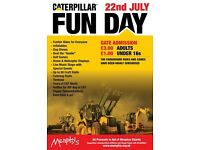 Caterpillar Fun Day 2017