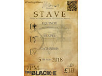 Tickets Available for STAVE! Metal/Rock Concert with Orchestral Accompaniment @ The Black-E