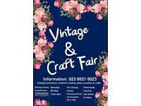 Vintage & Craft Fair 6th May