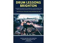 DRUM LESSONS - Brighton/ Hove/ Portslade