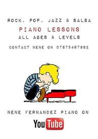 Classical, Rock, Pop, Jazz & Salsa Piano Lessons !