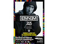 2xEminem tickets For Sale- Summer sessions festival - £75 each-Bellahouston Park, Glasgow - 24/08/17