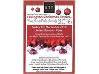 Eckington Christmas Festival and Market (XMAS - Festive - Yule - Noel - Santa - Grotto)