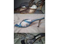 X20 Bargin-priced Ladies Diamond Detail Heels Shoes in box