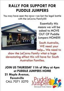 Pep Rally for Puddle Jumpers! SAVE OUR HOME Forestville Unley Area Preview