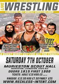 Live Family-friendly Wrestling In Livingston this Saturday