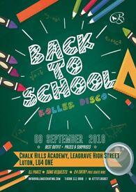 Luton 'Back 2 School' Roller Disco