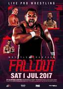 Wrestle Rampage: Fallout Woodville Charles Sturt Area Preview