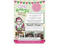 BOOK A STALL BIG BABY AND CHILDREN'S PRE-LOVED MARKET GRAYS