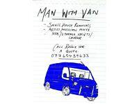 Man With Van Soutside