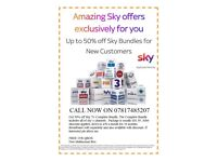 50% OFF ALL SKY PRODUCTS