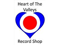 ANY UN-WANTED OLD VINYL RECORDS, MORE STOCK NEEDED @ hEART OF THE VALLEYS RECORD STORE NP12 1AZ