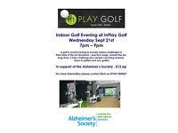 Fund Raising Indoor Golf Event