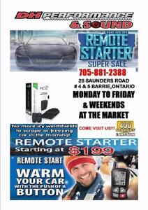 REMOTE CAR STARTER--GET INTO A WARM VEHICLE!! ON SALE DECEMBER