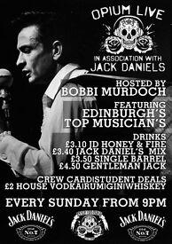 Open Mic Night @ Opium Edinburgh