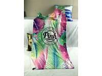 multicolored fashion towel