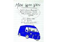 MAN WITH VAN