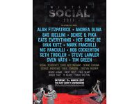 The Winter Social 2x tickets for sale