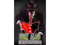 Christmas Parties Mike Alan Magician Christmas Party Magician | Close up magician for Christmas