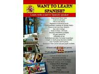 Learn Spanish with a native one to one