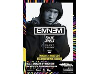 Eminem Live! Tickets! Glasgow! Thursday 24th August @ Bellahouston Park!