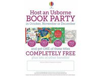 are you interested in free books host an usborne book party
