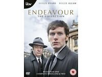 Endeavor DVD Boxset Pilot Film and Complete Series 1 & 2