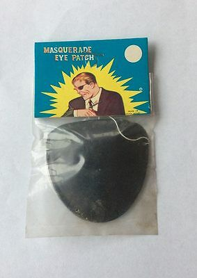 Vintage Nick Fury Eyepatch 1960's Original old store stock](Nick Fury Costume Halloween)