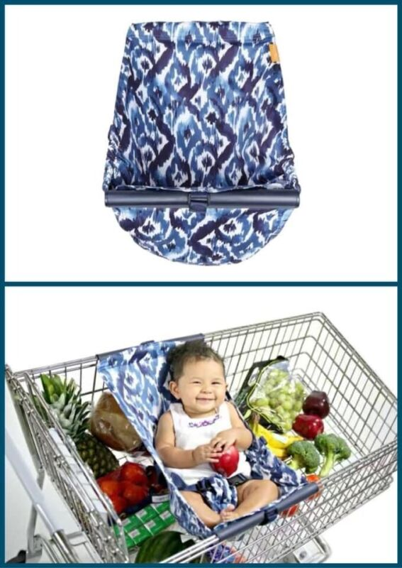 Binxy Baby Shopping Cart Hammock Cover for Car Seat or Baby