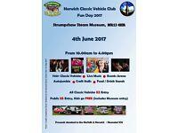 Charity fun day... Norwich Classic Vehicle Club