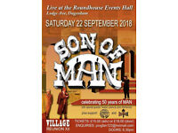 Son of MAN with Special Guests + The Green Ray + Rostock