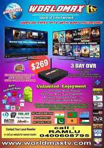 WORLDMAX TV – IPTV HD BOX FOR ONLY $269 (INCLUDES POSTAGE*)! Erskine Park Penrith Area Preview