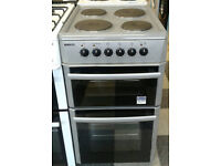 a120 silver beko 50cm solid ring electric cooker comes with warranty can be delivered or collected