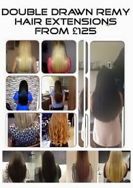 Hair extensions from £125