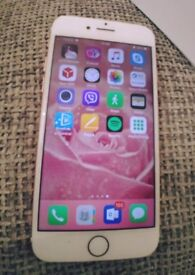 iPhone 7 rose gold 32gb immaculate condition 2 weeks old