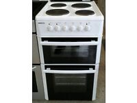 062 white beko 50cm electric cooker comes with warranty can be delivered or collected