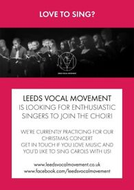 Keen singers wanted for Leeds adult choir