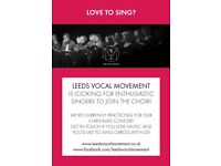 Keen singers wanted for Leeds adult choir